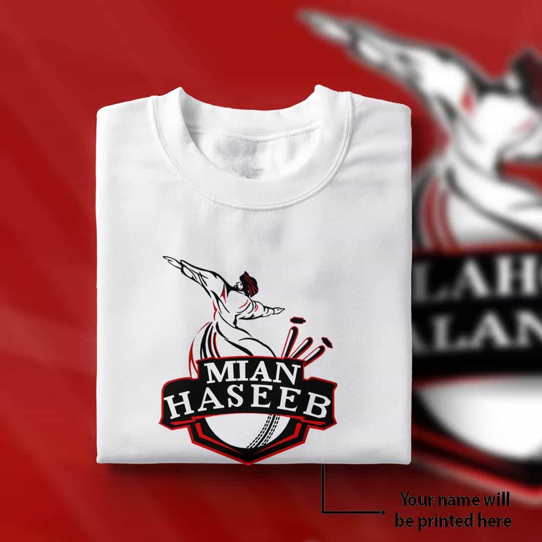 Lahore Qalandars Name Shirt